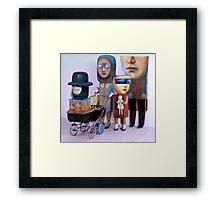 Renaissance Family. Framed Print