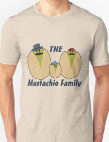 The Italian Mustachio Family T-Shirt