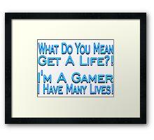 Many Lives Framed Print