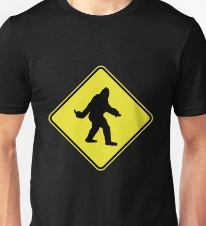 Bigfoot Crossing Unisex T-Shirt