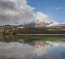Lake Annette  Jasper National Park by Ron Finkel