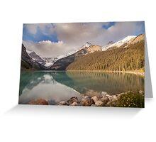 Lake Louise, Canada Greeting Card