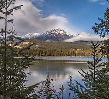 Lake Annette Canada by Ron Finkel