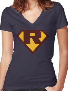 Gabbie's Super R Women's Fitted V-Neck T-Shirt