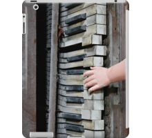 Creepy Piano Baby iPad Case/Skin