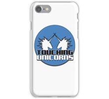 Touching Unicorns Blue Logo Phone Case iPhone Case/Skin