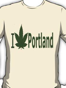 0110 I Love Portland T-Shirt