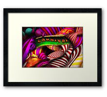 Abstract - Carnival Framed Print