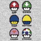 1up quarks by tetrahedron