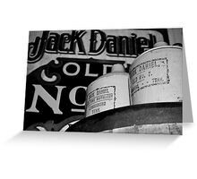 Good Old Jack Greeting Card