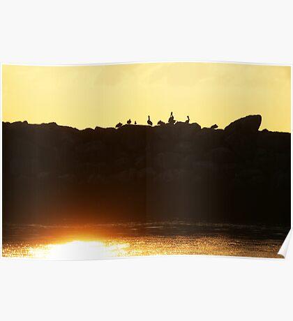 Sunset Del Rey Poster