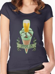 World's End Mint Cornetto - Banner Women's Fitted Scoop T-Shirt