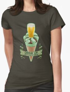 World's End Mint Cornetto - Banner Womens Fitted T-Shirt