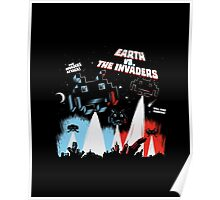 Earth vs. The Invaders Poster