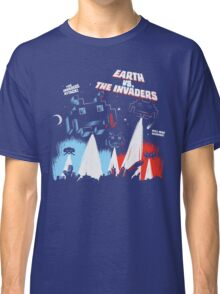 Earth vs. The Invaders Classic T-Shirt