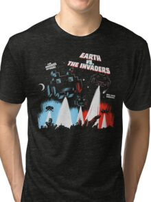 Earth vs. The Invaders Tri-blend T-Shirt