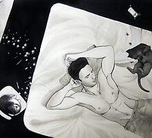 Paw Prints by Elizabeth Aubuchon