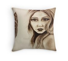 Olivia (Elf Army) Throw Pillow