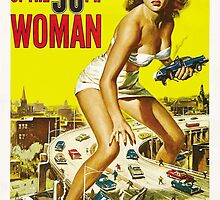 Attack of the 50ft woman by vintageposters