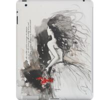 Bleed My Household White iPad Case/Skin