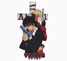 Wolfwood and Vash by sd772