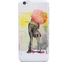 Pink Rain iPhone Case/Skin