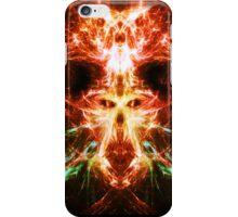 Fractal Flame Skull iPhone Case/Skin