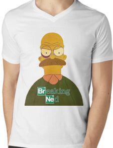 Breaking Bad Walter White Mens V-Neck T-Shirt