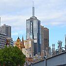 Sandridge Bridge, Melbourne by Helen Greenwood