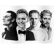 The Many Faces of Tom Hiddleston Poster