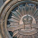 Door detail - Shrine of Remembrance, Melbourne by Helen Greenwood