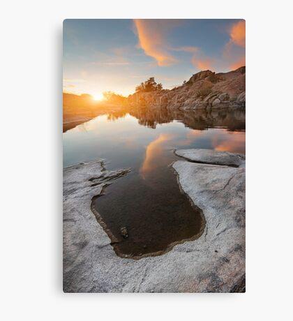 Evaporate Canvas Print