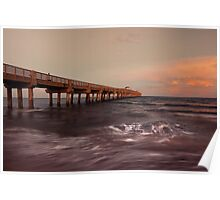 Lake Worth Pier Poster