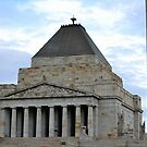 The Shrine of Remembrance, Melbourne by Helen Greenwood
