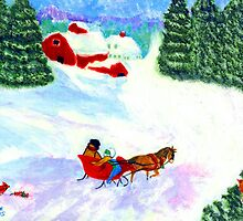A One-Horse-Open Sleigh (For My Dad) by louie ferris