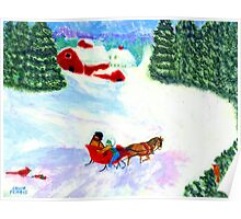 A One-Horse-Open Sleigh (For My Dad) Poster