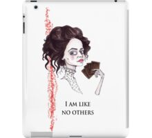 Vanessa the Medium iPad Case/Skin