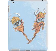 V is for Viking Beards of Valhalla iPad Case/Skin