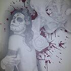 untitled #2 of 2 canvas dia de los muertos piece by asvone