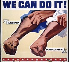 Together We Can Do It Keep `Em Firing by vintageposters