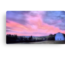 Day Turns To Night Canvas Print