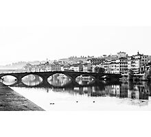 The River Arno Photographic Print