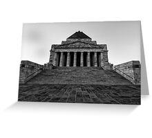 Shrine of Remembrance Greeting Card