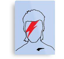 David Bowie - Aladdin Sane Metal Print