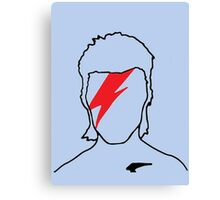 David Bowie - Aladdin Sane Canvas Print