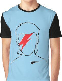 David Bowie - Aladdin Sane Graphic T-Shirt
