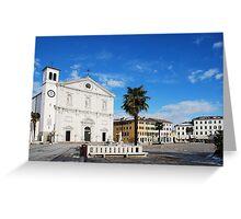 Palmanova Duomo Greeting Card