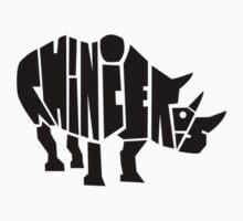 Rhinoceros  One Piece - Short Sleeve