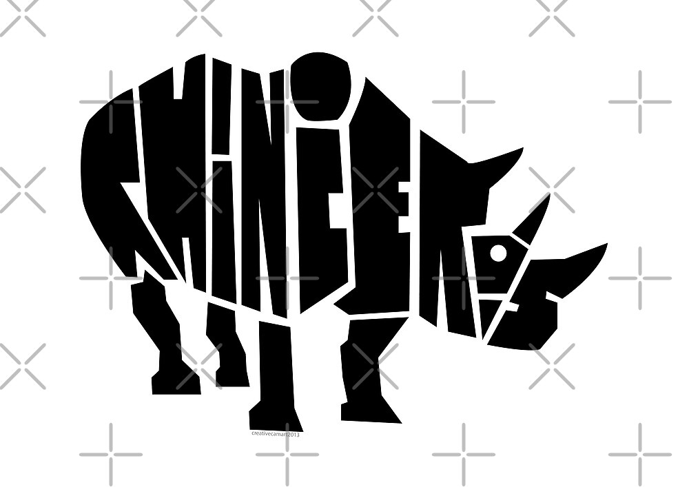 Rhinoceros  by creativecamart