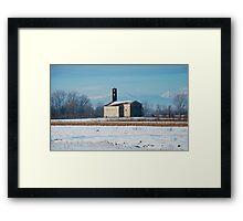 Rural Friulian Church Framed Print